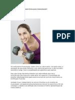Como Escolher Os Exercicios Para Musculacao