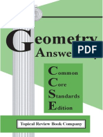 Geometry Cc Wrkbk Anskey 1st Edition View Only