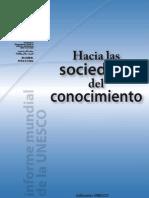 1-Hacia Las Sociedades Del Conocimeinto UNESCO