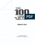 The 100 - Ranking of Most Influential People in History - Michael Hart Citadel Press 1992
