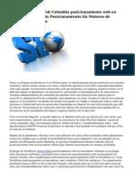 Posicionamiento Web Colombia posicionamiento web en buscadores Medellin Posicionamiento En Motores de búsqueda Medellin