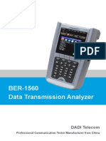 BER-1560 Data Transmission Analyzer