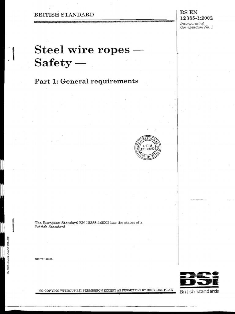EN 12385-5 PDF