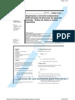 NBR-9778-Argamassa e Concreto Endurecidos -Determinação Da Absorção de Água Por Imersão - Índice de Vazios e Massa Especifica