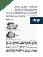 El Motor de Diesel y Su Historia.