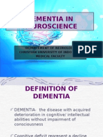 Dementia in Neuroscience