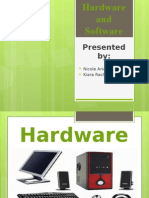 Hardware and Software Components input and output