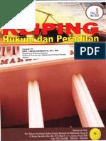 Kliping Hukum Dan Peradilan Edisi 5 Th 2015