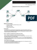 Configuración de Las VLAN y de Los Enlaces Troncales