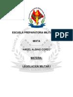 Antologia de Legislacion Militar I.