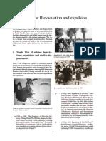 World War II Evacuation and Expulsion