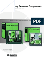 Sullair Screw Air Compressor WS 1800-3700