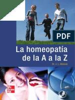 La Homeopatia de La a a La Z