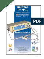 Manual de Uso Oximetro de Pulso Mod. 6000