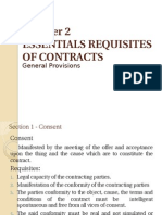 Essential Requisites of ContractsPPT