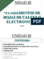 Fundamentos de Hojas de Calculo2013