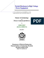 PD measurement in transformer