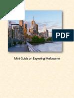 Mini Guide on Exploring Melbourne