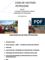 Ejecucion Pozo Petrolero