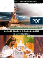 Lección 13 - El Antiguo y El Nuevo Testamento