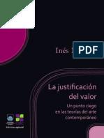 La Justificacion Del Valor - I. Moreno_pdf