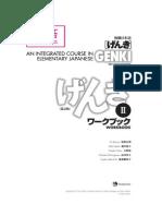 GENKIII2nd Edition AnswerKeysWorkbook