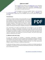 wiki y blog