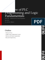 Fundamentals of PLCs Review