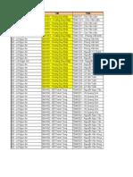 Lịch Onfield Batch 2 HN1,2