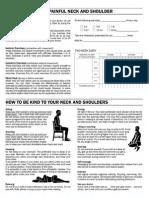 Neck and Shoulder Exercises