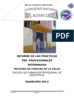 informe obstetricia