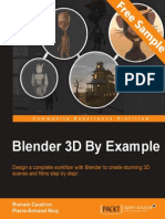 Blender 3D By Example - Sample Chapter