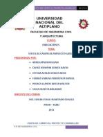Informe de Proyecto Lagunillas