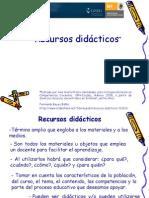 Los Recursos Didacticos