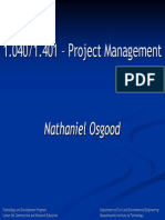 project management session 1