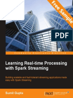 Learning Real-time Processing with Spark Streaming - Sample Chapter