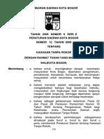 Perda Kawasan Tanpa Rokok Kota Bogor