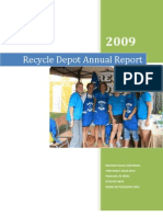 Recycle Depot - 2009 Annual Report