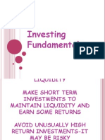 Chapter 5 Investing Fundamentals