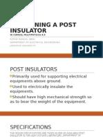 Designning a Post Insulator