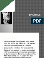 Epicurus Lecture