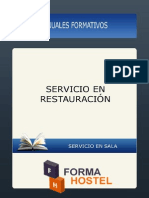 SERVICIO DE RESTAURACIÓN