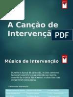 Música de Intervenção