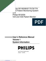 Sistema Monitor Multiparametrico Philips v24 y V26