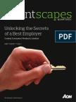 HR Talent Scape - Aon Hewitt Report