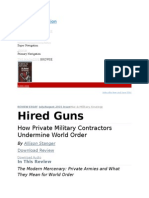 How Private Military Contractors Undermine 