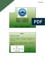 Aula 6 Alcanos, Alcenos e Alcinos [Modo de Compatibilidade]