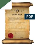 CLASSCRAFT HERO PACT