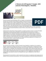 Posicionamiento En Motores de búsqueda Y Google, SEO Colombia, Posicionamiento Web Bogotá, Medellin