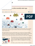 Investors Flock to Cyber Security Start-ups - FT